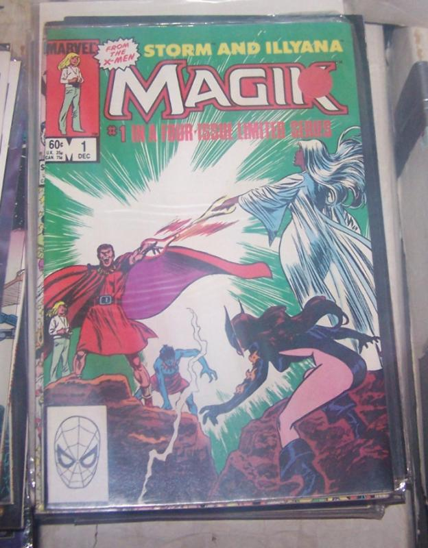 Magik #1 (Dec 1983, Marvel) X MEN ILLYANA RASPUTIN SORCERER