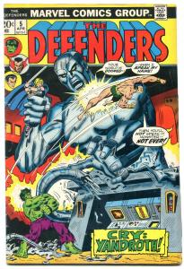 THE DEFENDERS #5 1973- Valkyrie Joins Defenders- VG/F