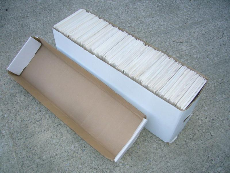 1,100 BACKING BOARDS + LONG BOX + LID packing used lot comic supplies multiple