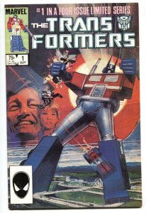 TRANSFORMERS #1 comic book 1984- First issue Marvel VF/NM