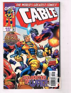 Cable (1993 1st Series) #45Marvel Comic Book Bastion X-Mansion Xavier HH3