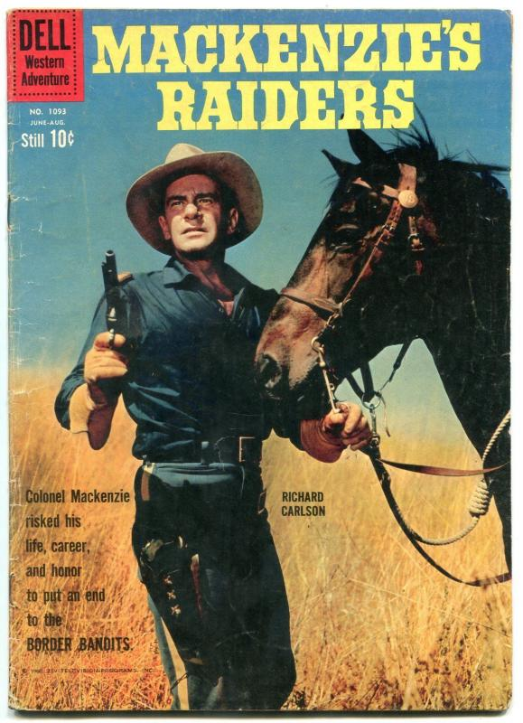 Mackenzie's Raiders- Four Color Comics #1093 1960-RICHARD CARLSON-vg