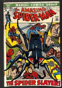 Amazing Spider-Man #105 GD+ 2.5 Spider Slayer! Marvel Comics Spiderman