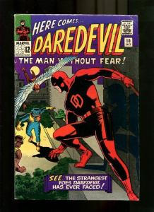 DARE DEVIL 10-1965-RED COSTUME-WALLY WOOD COVER  FR