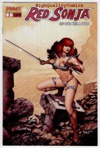 RED SONJA #1, She-Devil, Sword, Mel Rubi, 2005, NM, Robert E Howard