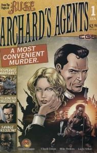 Archard's Agents #1 VF/NM; CrossGen | save on shipping - details inside