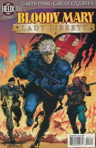 Bloody Mary: Lady Liberty #3 VF; DC/Helix | save on shipping - details inside