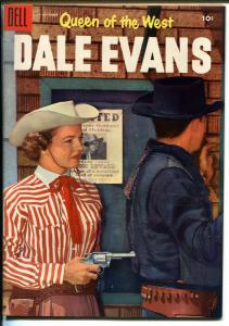 Queen of The West Dale Evans #8 1955-Dell-Russ Manning-photo covers-VF