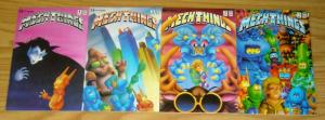 Mechthings #1-4 FN/VF complete series - brad w. foster - renegade press 2 3 set