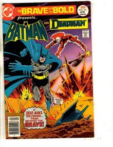 Lot Of 5 Brave & The Bold DC Comic Books # 133 134 135 136 138 Batman Flash J293
