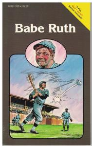 Babe Ruth Pocket Biographies Mini-Comics about Baseball!