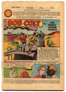 Bob Colt Comics #2 1951-Coverless reading copy