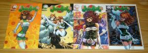 Judo Girl #1-4 VF/NM complete series - all B variants - alias comics bad girl