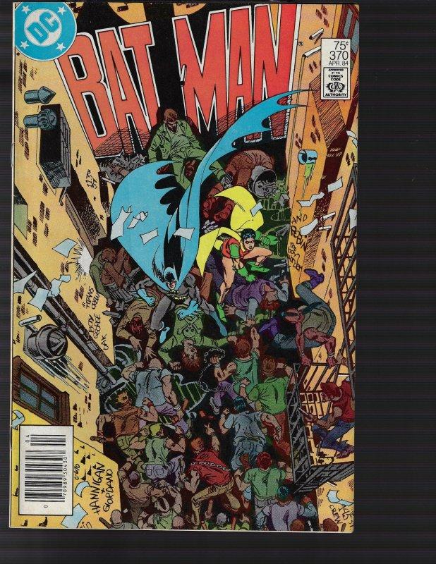 Batman #370 (DC, 1984) VF+