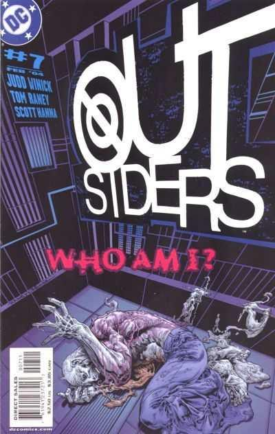 Outsiders (2003 series) #7, NM + (Stock photo)