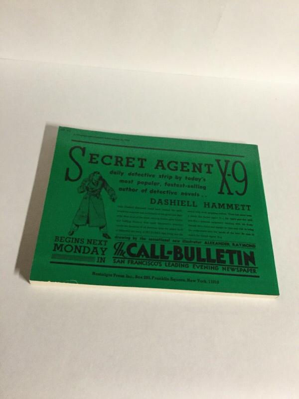 Secret Agent X-9 Oversized Sc Softcover Nostalgia Press B17