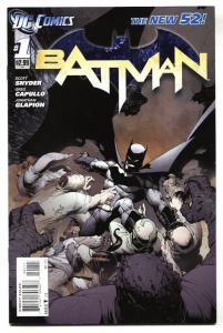 Batman #1 New 52-DC Comic Book-2011