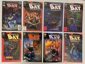 Batman Shadow of the Bat lot #0-79 all 81 different books 8.0 VF (1992-'96)