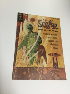 Doctor Solar Man Of The Atom 1 Fn- Fine- 5.5 First Doctor Solar Gold Key SA