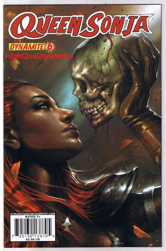 QUEEN RED SONJA #6, NM-, She-Devil, Lucio Parrillo, 2009, more RS in store