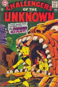 Challengers of the Unknown (1958 series) #59, Fine (Stock photo)
