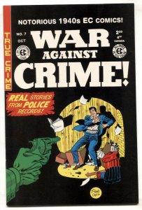 War Against Crime #7 2000- Gemstone reprint- EC comic