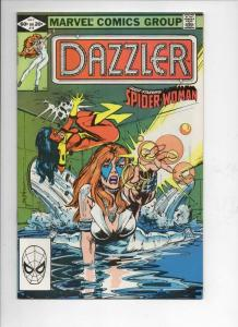 DAZZLER #15, VF/NM, Spider-Woman, 1981 1982, more Marvel in store