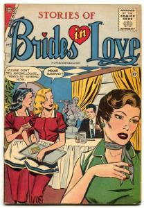 Brides in Love #2 1957- Charlton Romance- VG