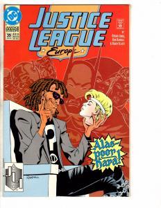 Lot Of 9 Justice League Europe DC Comics # 39 40 41 42 43 44 45 46 47 Flash CR11