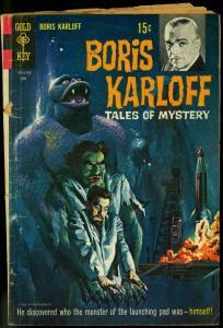 BORIS KARLOFF TALES OF MYSTERY #26-HORROR COMIC G/VG