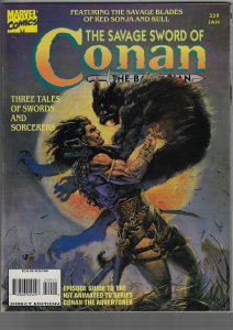 Savage Sword of Conan #229 (Marvel, 1995)