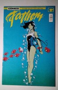 Fathom #3 (1987) Comico  Comic Book J756