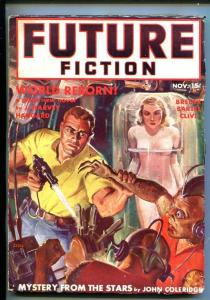 FUTURE FICTION-NOV 1939-PULP-JW SCOTT--SOUTHERN STATES PEDIGREE-fn minus