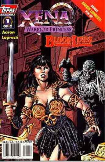 Nice Xena Warrior Princess Bloodlines #2b 1998 Topps Comics Nm Complete In Specifications