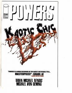 Lot Of 4 Powers Image Comic Books # 22 23 24 25 NM 1st Print Brian Bendis AK7