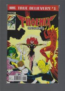 True Believers: Phoenix Returns! #1 (2018)