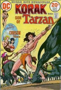Korak: Son of Tarzan (1972 series) #53, VF (Stock photo)