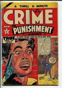 CRIME AND PUNISHMENT #45 1951-Hophead Killer-Spook Show FAIR