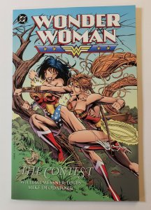 WONDER WOMAN: THE CONTEST TPB SOFT COVER FIRST PRINT DC COMICS VF/NM