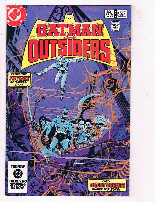 Batman & The Outsiders #3 VF/NM DC Comics Bronze Age Comic Book Oct 1983 DE46