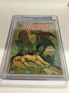 Vampire Tales 2 CGC 9.6 OW/W Pages First App. Of Satana Marvel Comics 2026037013