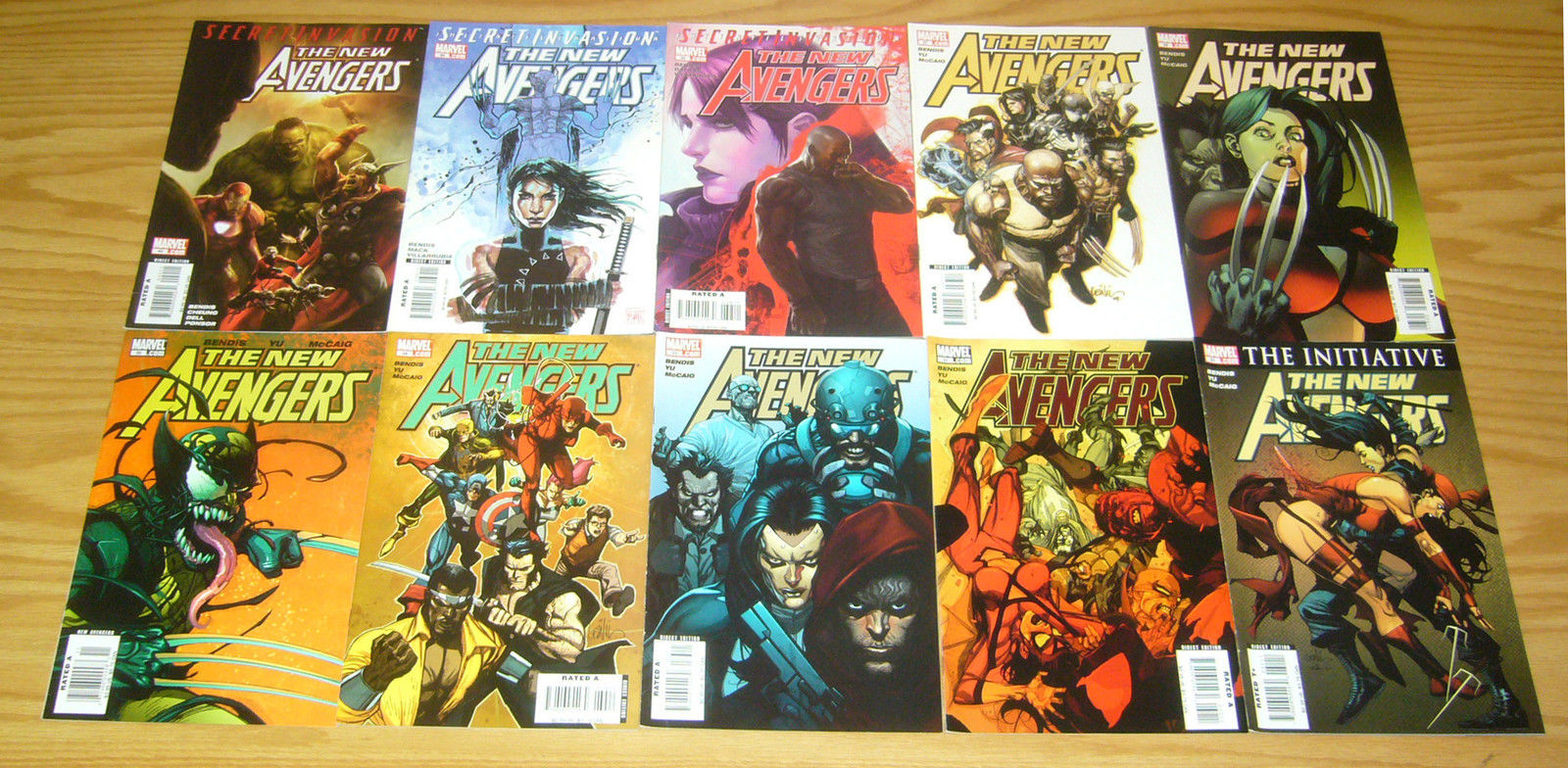 NEW AVENGERS #63 FN//VF TO VF SIEGE TIE-IN