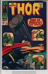 THOR (1966 MARVEL) #141 FN A00224