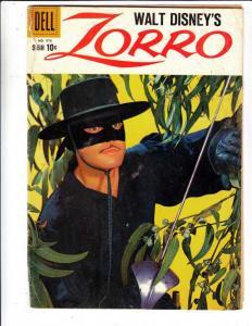 Four Color #976 (Jun-59) VG Affordable-Grade Zorro