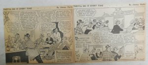 (300) There Oughta Be A Law Panels by Fagaly from 1945 Size: 5 x 6 inches
