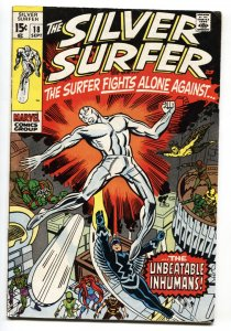Silver Surfer #18 jack kirby  comic book 1970-Marvel-last issue Inhumans
