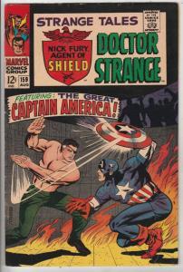 Strange Tales #159 (Aug-67) VF+ High-Grade Nick Fury, Dr. Strange