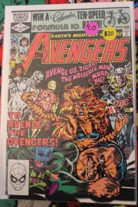 Avengers 216  VF