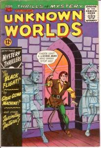 UNKNOWN WORLDS (1960-1967 ACG) 37 FINE Feb. 1965 COMICS BOOK