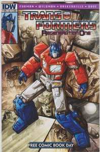 Transformers #80.5 Free Comic Book Day